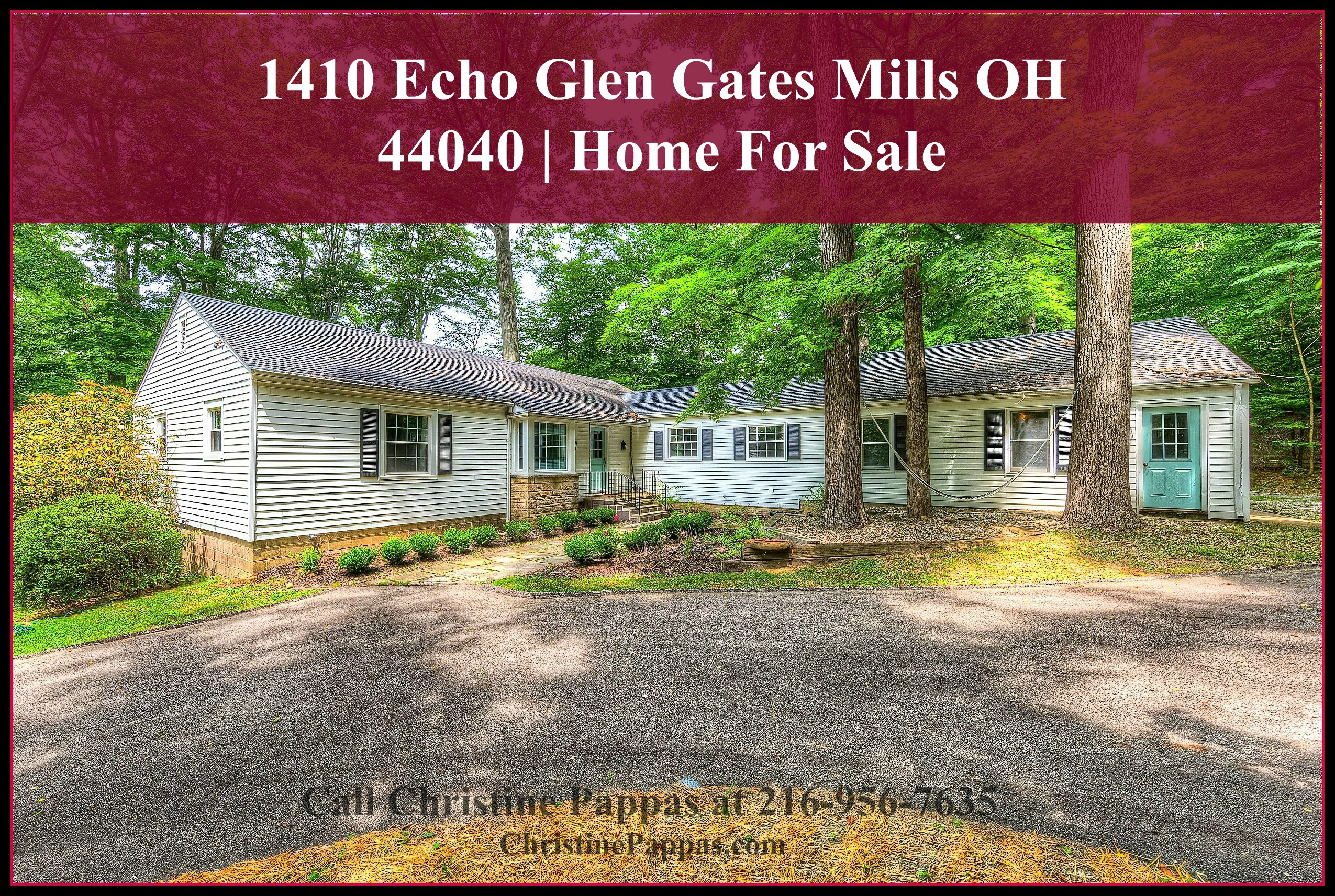 Situated in a superb location and an extra large lot, this 2 bedroom home for sale in Gates Mills OH is truly a prized catch.