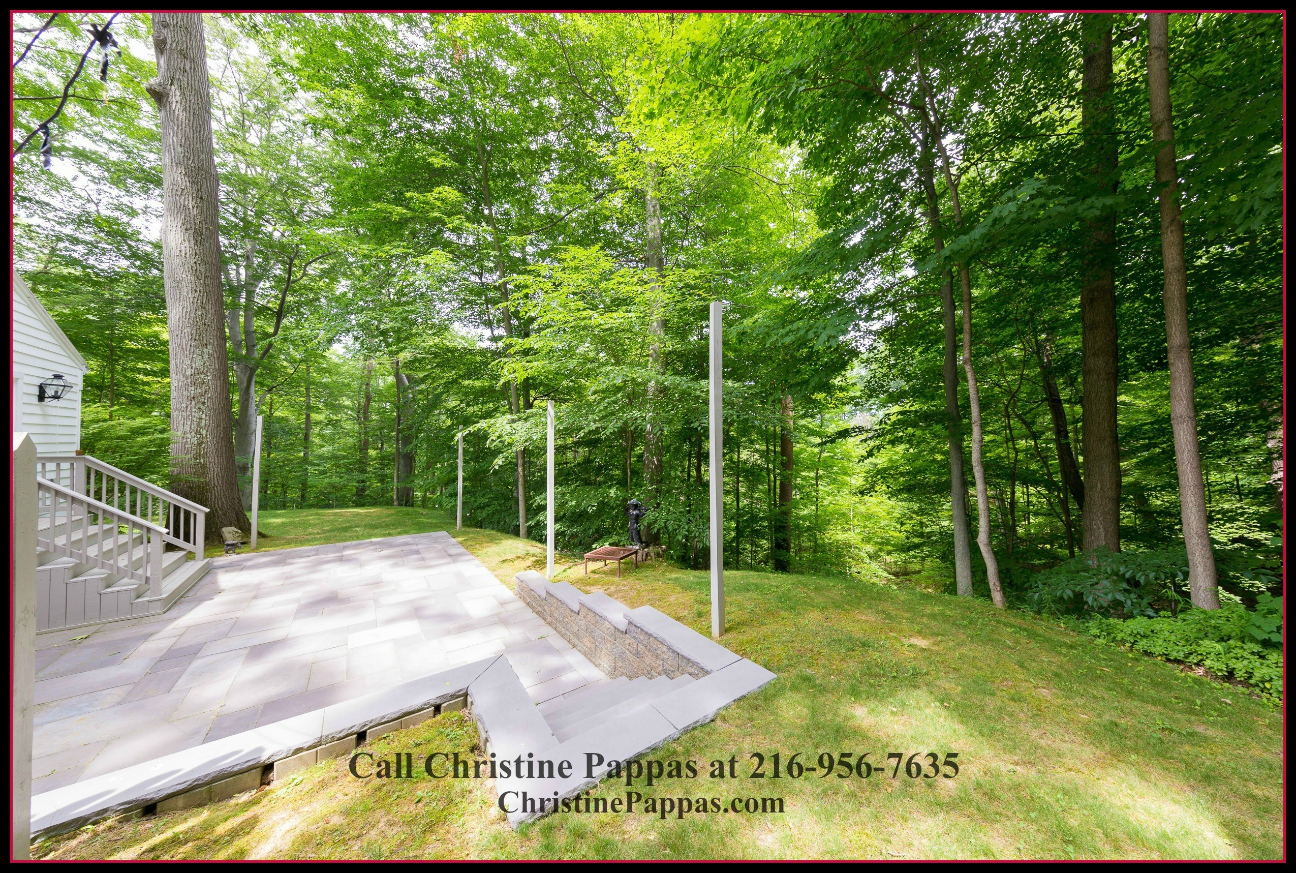 Want to have a relaxing afternoon? An open lanai awaits you in this home for sale in Gates Mills OH.