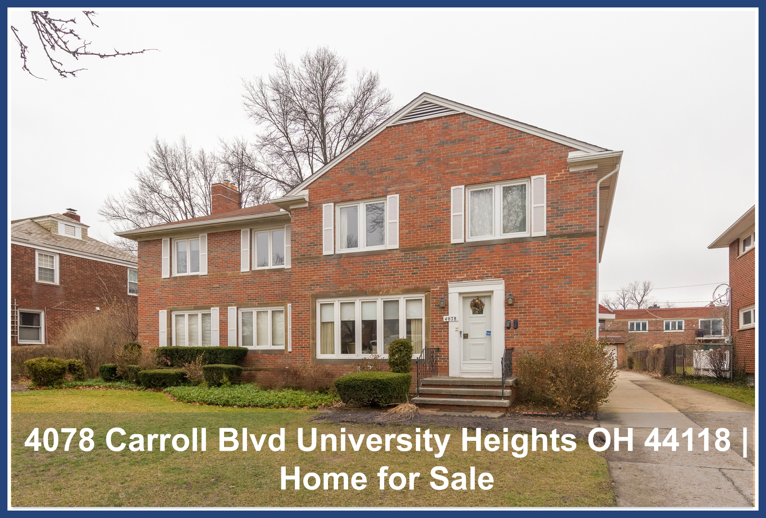 Astonishing 4078 Carroll Blvd University Heights Oh 44118 Home For Interior Design Ideas Gentotryabchikinfo